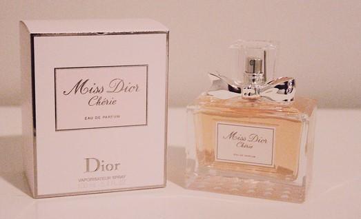 Miss Dior Cherie recipient