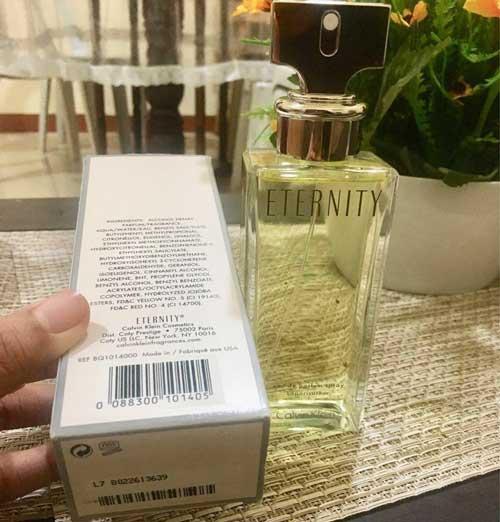 Calvin Klein Eternity ambalaj